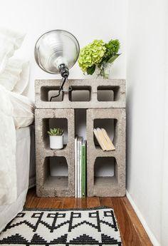 Decore seu apartamento com restos de obras