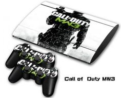 Final Fantasy Skin Sticker Cover for Super Slim 4000 Console + 2 Controllers -- popular game Call Of Duty, Ps3, Final Fantasy, Consumer Electronics, Console, Slim, Video Games, Cover, Popular