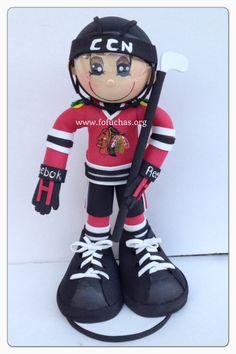 Black Hawks Fofucho hockey
