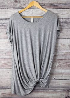 Tay Knotted Tee – honeybeat https://www.stitchfix.com/referral/4589413