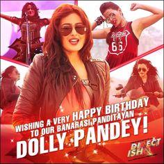 WISHING YOU A VERY HAPPY BIRTHDAY TO OUR BANARASI  PANDITAYAN DOLLY PANDEY... #NidhiSubbaiah Team #DirectIshq  #Pradeepksharma #RajivSRuia #RajnieshDuggall #ArjunBijlani  #bollywood #Instabollywood #bollywoodfilm #bollywoodmovie #bollywoodactresss #Bollywoodstar #movie2016 #Bollywooddirector #newtrailer