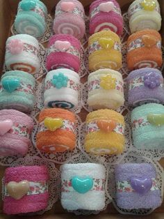 Cute idea for a spa party favor or a shower