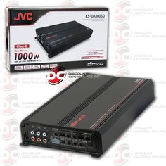 JVC KS-DR3005D CAR AUDIO 5-CHANNEL CLASS D AMP AMPLIFIER 560 RMS