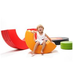 [DESIGN SKIN] Baby Single Donut Hard Sofa Waterproof Non-toxic Kids Play 2 Type
