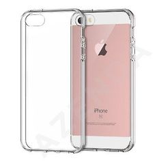 For new apple #iphone se/5/5s tpu gel #jelly skin case / cover crystal #clear,  View more on the LINK: http://www.zeppy.io/product/gb/2/182119010783/