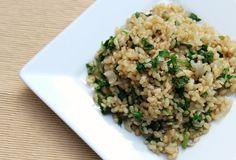 Aromatic Jasmine Herb Brown Rice   Strength and Sunshine @RebeccaGF666 #rice #sidedish #glutenfree #vegan