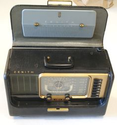 Zenith Transoceanic Model  H500  Introduced May 1951 picclick.com