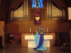 Resultado de imagen para methodist church altar decorations