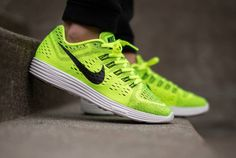 My new runners! Nike Lunartempo White & Volt