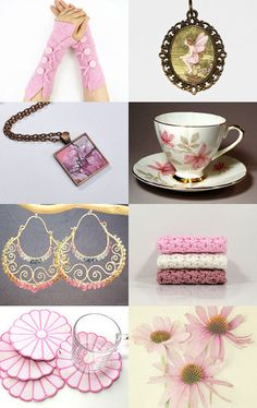 Fairy Pink by Linda Karen on Etsy--Pinned with TreasuryPin.com