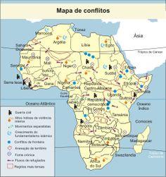mapa conflito