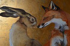 Hare Illustration, Illustrations, Fox And Rabbit, Rabbit Art, Animal Sketches, Animal Drawings, Zootopia, Bunny Art, Fox Art