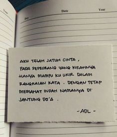 New quotes indonesia kecewa rindu ideas Quotes Rindu, Romance Quotes, Quotes From Novels, Quran Quotes, Mood Quotes, Crush Quotes, Life Quotes, Qoutes, Islamic Quotes