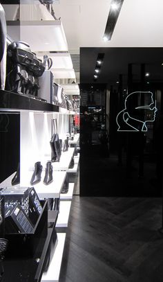 Karl Lagerfeld store by Plajer & Franz Studio and Laird + Partners, Paris store design