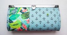 Wallet with a flat lock. Tutorial ~ DIY Tutorial Ideas!