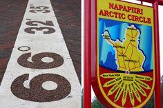 Pohjoinen napapiiri on vyöhyke, jonka pohjoispuolella aurinko paistaa kesäisin yhtäjaksoisesti vähintään yhden kokonaisen vuorokauden ja talvella aurinko ei nouse yhden vuorokauden aikana ollenkaan. #rovaniemi #suomi #finland Finland Travel, Arctic Circle, Jrr Tolkien, Athens, Berlin, Paris, Montmartre Paris, Athens Greece, Berlin Germany