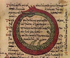 Ouroboros: Ancient Infinity Symbol Used By Different Primitive Civilizations Pagan Quotes, Ying Y Yang, Ouroboros, Eternal Return, Symbols And Meanings, Ancient Symbols, Ancient Scripts, Spiritual Symbols, Fb Page