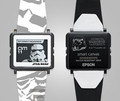 Storm Trooper e-paper watch