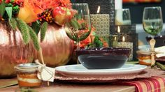 Thanksgiving table for less
