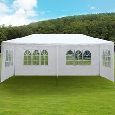 3m x 6m White Waterproof Outdoor Garden Gazebo Party Tent Marquee SUPPORT BEAM