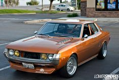 Very COOL Toyota celica... BACK WHEN ART WAS EXPRESSED ON THE STREEET