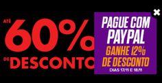 Passarela - 12% de Desconto pagando pelo Paypal