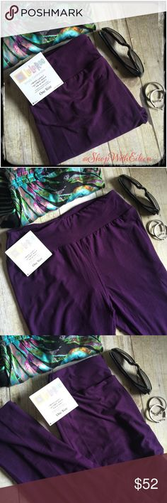 LulaRoe Eggplant Purple OS Leggings!  LulaRoe Eggplant Purple Solid OS Leggings! Gorgeous Color! REMEMBER LulaRoe has stopped making solid leggings for an entire year! STOCK UP on all of your solids to go with your printed tops! These are made in Vietnam. *I am not a consultant… I am just a LulaRoe addict and love the hunt to find great prints! Supply + Demand= Price  Enjoy! If you aren't happy with the price just move on...No need to comment! Plenty others appreciate my closet & will…