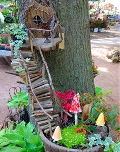 Tasarım karavanı...: Minyatür Bahçeler...