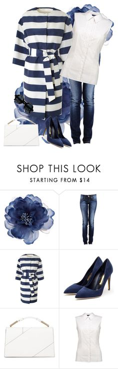"""""""marine ot"""" by atijanam ❤ liked on Polyvore featuring Accessorize, MSGM, Rupert Sanderson, Jason Wu and Chanel"""