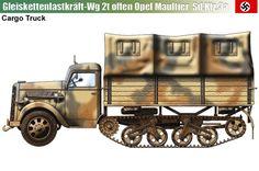 Sd.Kfz.3a Opel Maultier