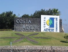 Costa Adeje sign