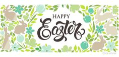 """happy easter text lettering with floral egg "" by Chris olivier Framed Prints, Canvas Prints, Dresses With Leggings, Happy Easter, Wall Tapestry, Decorative Throw Pillows, Stationery, Greeting Cards, Iphone Cases"