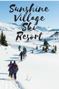 Sunshine Village Ski Resort near Banff is simply amazing.