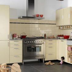 Kann die moderne Küche im Retro Stil gestaltet sein? | Moderne küche ...