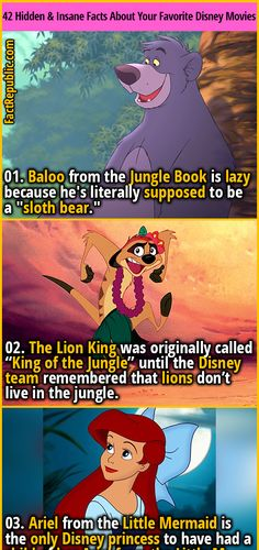 42 Completely Hidden & Insane Facts About Your Favorite Disney Movies