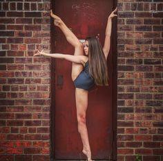 Dancer in a doorway