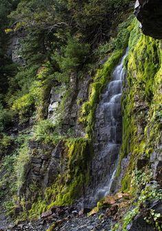 Scout Falls-easy Utah waterfall hike in American Fork Canyon