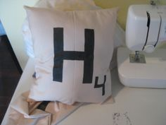 How to Make Scrabble Pillows