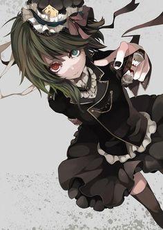 heterocromia anime - Buscar con Google