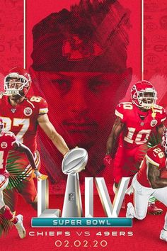 Super Bowl LIV is just days away and the anticipation grows for what should be an excellent matchup between the Kansas City Chiefs and San Francisco In one corner, we have a team that… Kansas City Nfl, Kansas City Chiefs Football, Chiefs Wallpaper, Football Wallpaper, Kelce Chiefs, Super Bowl Live, Kc Football, Baseball, Star Trek Posters