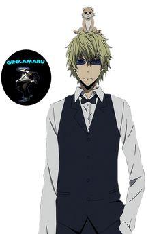 Render Anime Boy Durarara Heiwajima Shizuo