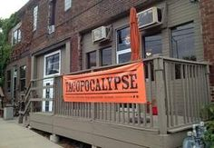 The Tacopocalypse location in the East Village. Des Moines
