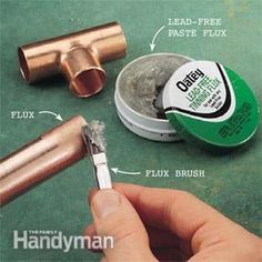 Soldering copper water supply lines is  not a difficult skill. Even a rookie can  learn to solder leak-proof joints in 30 minutes. The process is simple—if you  follow a few basic guidelines. In this story we'll show you how to solder  copper quickly and easily.