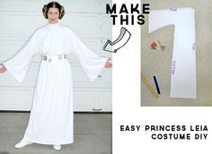How to make Princess Leia's dress