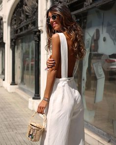 White  #new #ootd #totallook #outfitoftheday #stye #style #stylist #estilo #streetstyle #chic #cool #cute #comfy #casual #colorful #basic #trend #trendy #moda #fashion #glam #glamour #retro #instaphoto #inspiration #instagram #instagramers #bershkacollection        Trendy Trend Beauty Fashion
