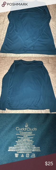 Cuddl Duds Layering Top Used as base layer for skiing.  Very warm! no defects! Tops Tees - Long Sleeve