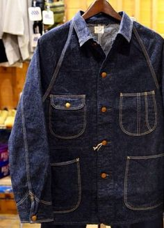 orslow 1950 denim coverall
