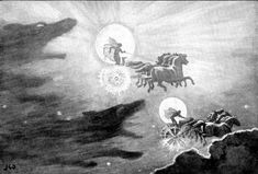 The Wolves Pursuing Sol and Mani - Sköll - Wikipedia