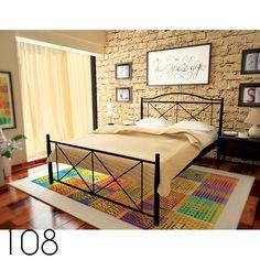 Κρεβάτι-Bed's   Τσινός Παντελής & Υιοί Ο.Ε. Metal Furniture, Bed Furniture, Metal Beds, Modern Bedroom, Iron, Colours, Interior Design, Bedrooms, Home Decor