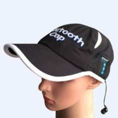Bluetooth Baseball caps for sporter